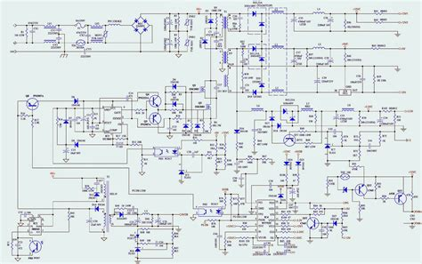 Wiring Diagram For Dell Power Supply Free by Atx Psu Diagram Free Wiring Diagram For You