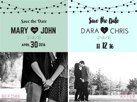 the templat free save the date templates diy save the date tutorial