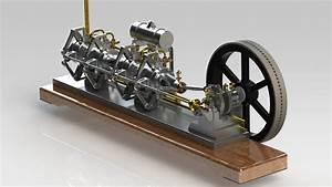 Snow Model Engine Tom's Maker Site