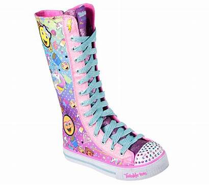 Twinkle Toes Skechers Shuffles Shoes Chattin Tops