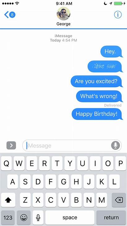Effect Ios Text Message Gifs Bubble Imessage