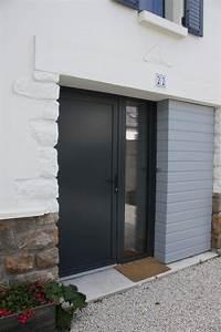 Moustiquaire Porte D Entrée : porte d 39 entr e alu ~ Melissatoandfro.com Idées de Décoration