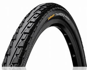 Bicycle Inner Tube Size Chart Buy Continental Tire Tour Ride 28 X 1 75 Black At Hbs