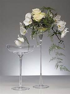 Glasschale Mit Fuß : glasschale bowl ing mit stiel und fu kelch schale glas kerzenschale 60 cm ebay ~ Watch28wear.com Haus und Dekorationen