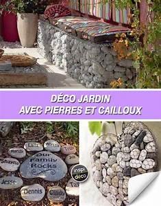Cailloux Deco Jardin : d co jardin avec pierres et cailloux voici 20 id es inspirantes ~ Melissatoandfro.com Idées de Décoration
