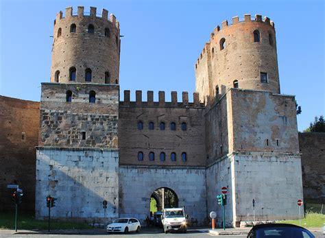 Porta Di San Sebastiano by Museo Delle Mura