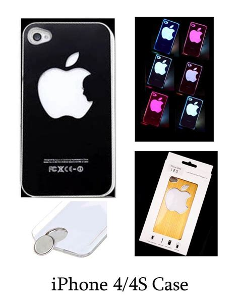 iphone led iphone led light apple iphone 4 4s 5 cover screen