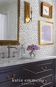 1000 ideas about wallpaper cabinets on pinterest bead for Kitchen colors with white cabinets with polka dot wall art