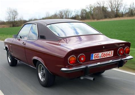 1975 Opel Manta by Picture Of The Day Opel Manta It Should Be Resurrected