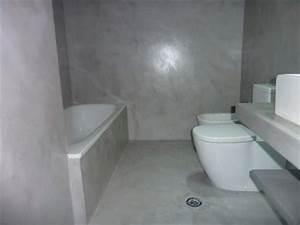 beton cire pour salles de bain With salle de bains beton cire
