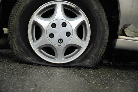 Winter's Cold Can Leave Drivers Stranded With A Flat