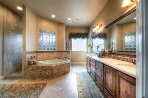 Show Me Bathroom Designs by Lightly Decorated Master Bath With Plenty Of Open Space