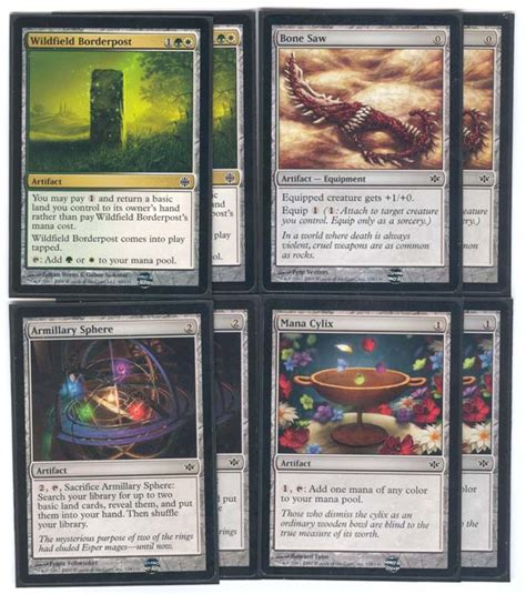 Mtg Myr Deck Modern by Magic The Gathering Adventures Mirrodin Deckbuilding