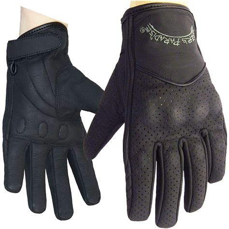 Women's Cruiser Leather Gloves by Bikers Paradise