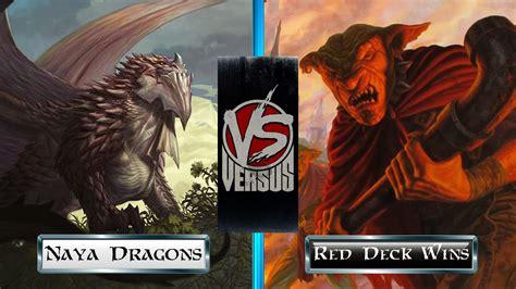 mtg standard naya dragons vs red deck wins final