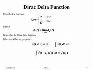 Delta Funktion Integral Berechnen : math for cs fourier transform ppt video online download ~ Themetempest.com Abrechnung