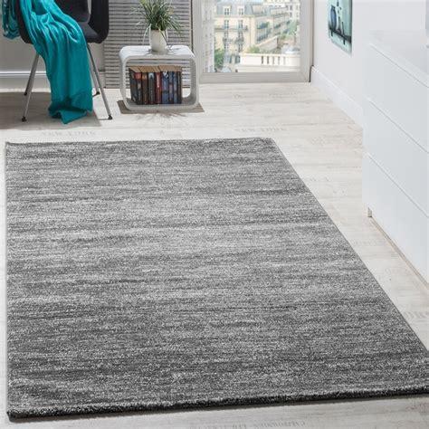 teppich modern wohnzimmer kurzflor grau teppichcenter