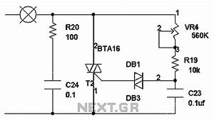 gt other circuits gt triac circuits gt triac dimming circuit With motor control wiring diagrams in addition triac dimmer circuit diagram