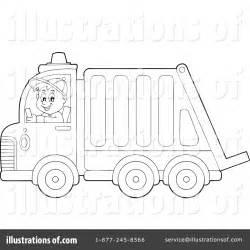 garbage truck clipart  illustration  visekart