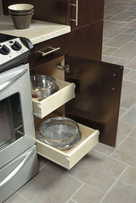 kitchen cabinet roll out trays slide out trays kitchen craft cabinetry 7937