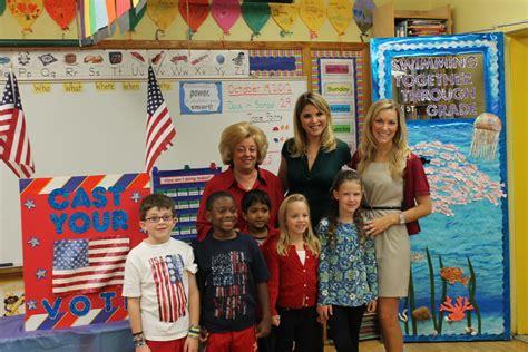 today show correspondent visits rockville centres watson school