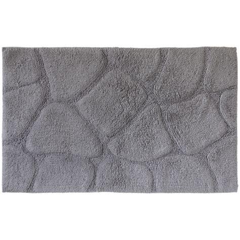 achat tapis de bain pav 233 s gris coton