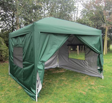 quictent privacy xscreen curtain pop  party tent canopy gazebo  colors ebay