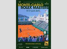 2011 MonteCarlo Rolex Masters Tournament Poster – Tennis