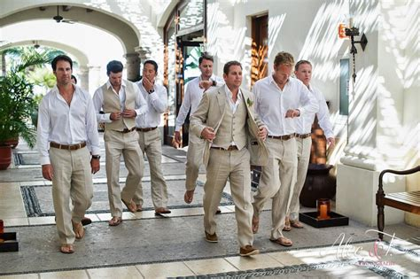 Groom Attire For Your Cabo Wedding