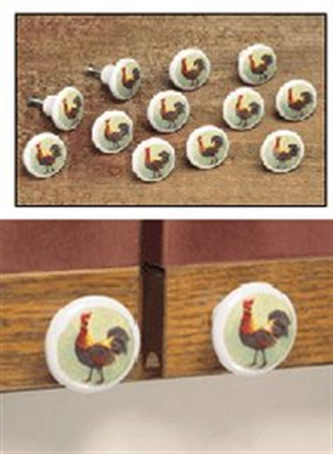 Rooster Cabinet Door Knobs by Rooster Cabinet Knobs Carolwrightgifts