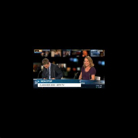 siege de bfm tv zapping fou rire en direct sur bfm tv puremedias