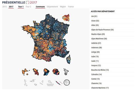 Carte De Des Elections 2017 Le Monde 201 lection pr 233 sidentielle 2017 la carte des r 233 sultats la