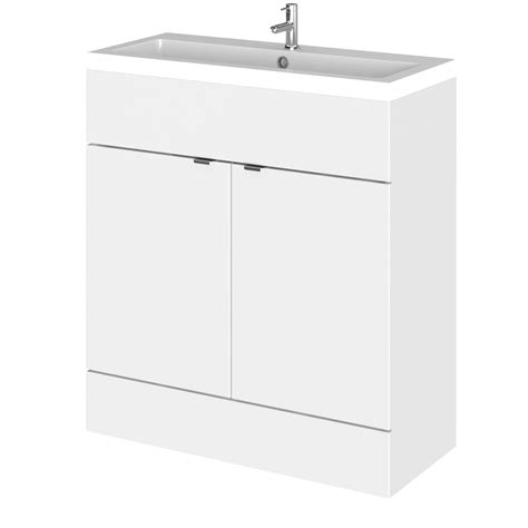 800 vanity unit hudson reed gloss white 800mm depth vanity unit and