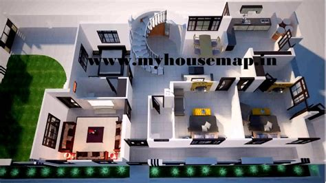 architecture floor plans 20x50 house design india