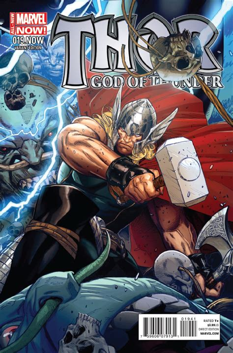 PREVIEW: Thor: God of Thunder #19.NOW - The Last Days of ...