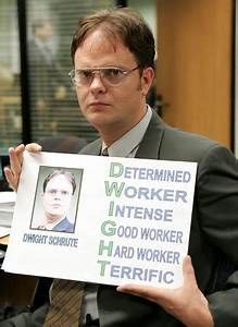 Determined Work... Good Dwight Quotes
