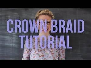 Crown Braid Tutorial by Brooke White - Good on short hair ...