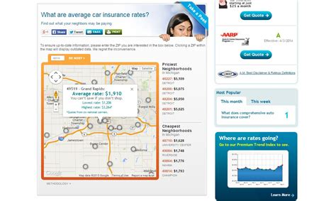 The reason your car insurance rates are higher: Location