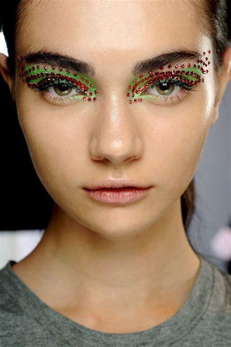 halloween makeup    runway