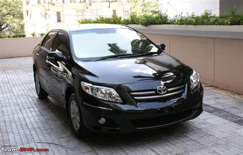 Toyota Of The Black by Toyota Corolla Altis 2013 Black