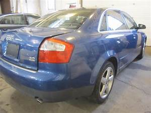 Parting Out 2003 Audi A4 - Stock   140118