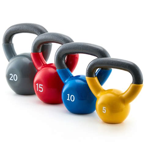 kettlebell weights vinyl lbs solid gym fitness lb durable iron cast walmart grip coating coated 50lb easy allenamento pesi resistenza