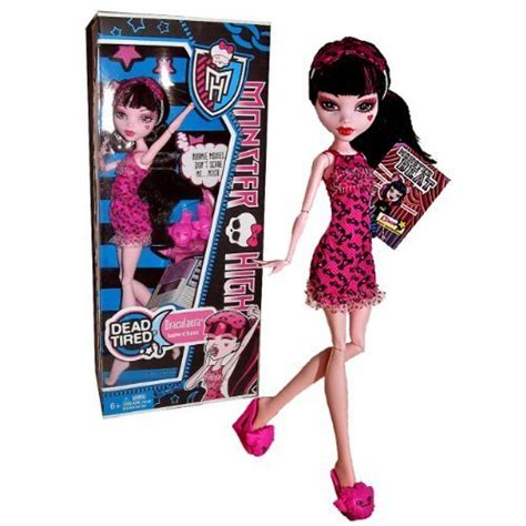 "Mattel Year 2012 Monster High ""dead Tired"" Series 10 Inch"