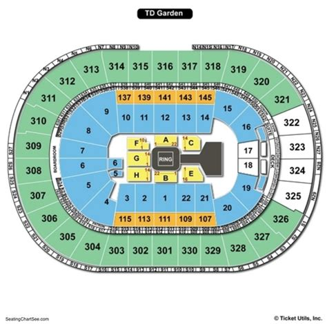 Td Garden Concert Seating - td garden seating chart seating charts tickets