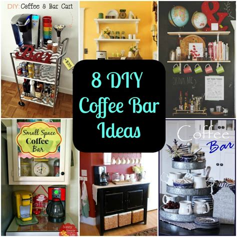 Chalkboard Ideas For Kitchen - 8 diy coffee bar ideas for your home diy for life
