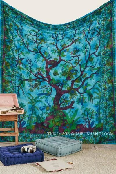 bohemian tree  life wall hanging dorm room cheap tapestries  sale