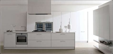 White Modern Kitchen Cabinets Ideas To Add