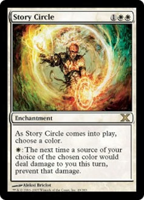 story circle tenth edition gatherer magic the gathering