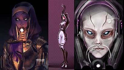 Mass Effect Quarians Really