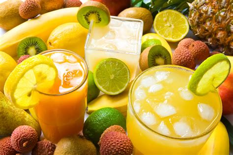 fruit drinks fresh drinks that can get your day started right health fitness talk